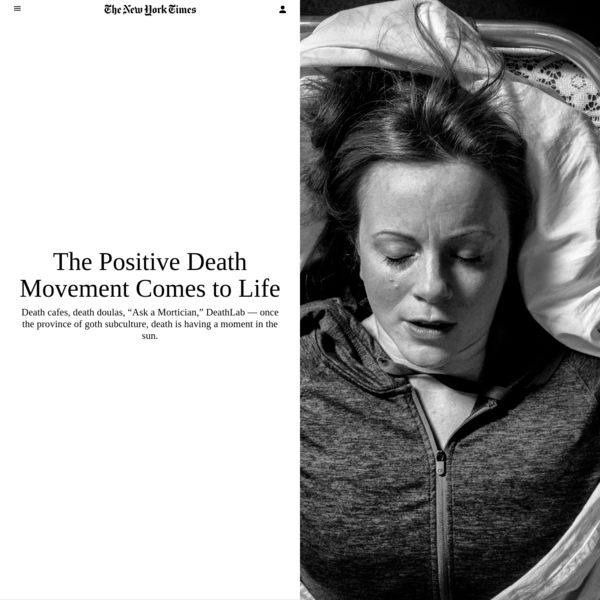 The Positive Death Movement Comes to Life