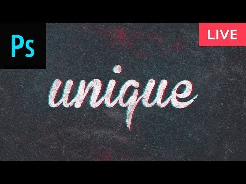 How to Design AWESOME Text Effects Photoshop Tutorial