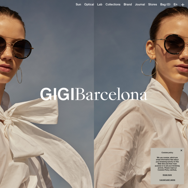 Gigi Barcelona combines the finest Italian materials with high-quality design in order to create their sunglasses and frames collections