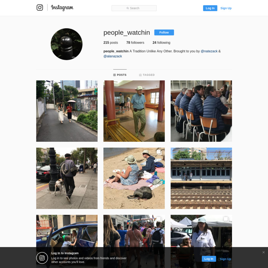 78 Followers, 24 Following, 215 Posts - See Instagram photos and videos from @people_watchin