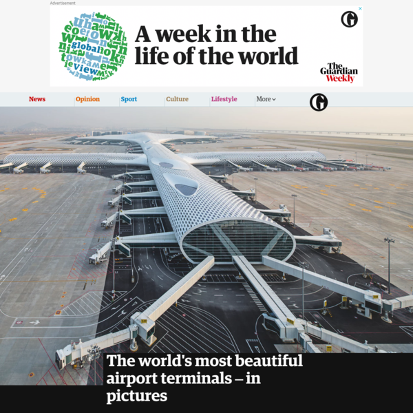 The world's most beautiful airport terminals - in pictures