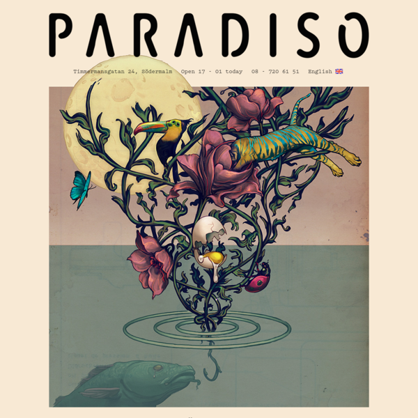 PARADISO Restaurang & Bar