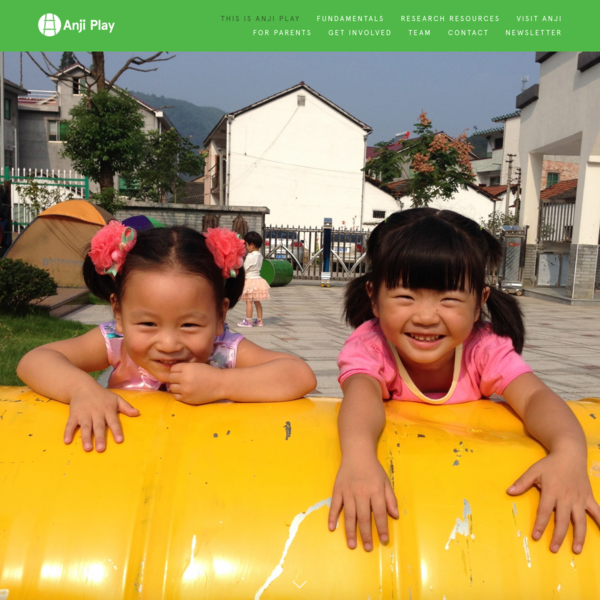 Anji Play is the internationally-recognized philosophy and approach to early learning developed and tested over the past 16 years by educator Cheng Xueqin. Today, Anji Play is the curriculum of the 130 public kindergartens in Anji County, China serving more than 14,000 children from ages 3 to 6.