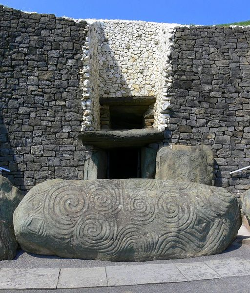 Newgrange, County Meath, Ireland, 3200 BC.  https://en.wikipedia.org/wiki/Newgrange