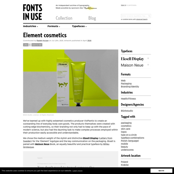 We've teamed up with highly esteemed cosmetics producer VisPlantis to create an outstanding line of everyday body care goods. The products themselves were created with cutting-edge biochemistry, so their branding not only had to keep up with the pace of modern science, but also h