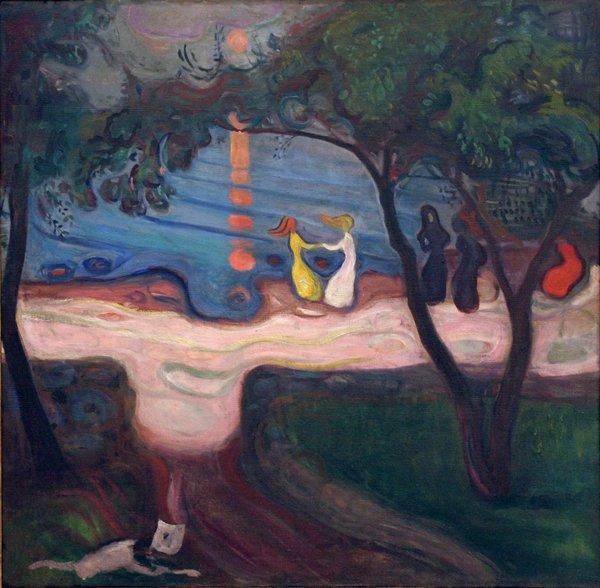 Edvard Munch - Dance on the Shore, 1900-02