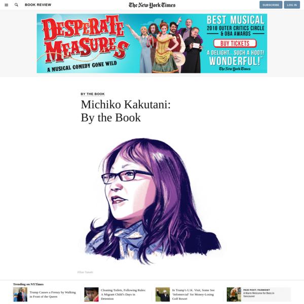 Michiko Kakutani: By the Book