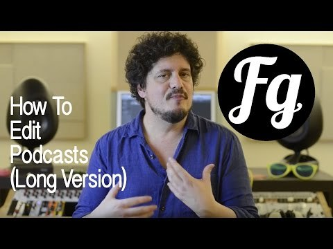 In this video (my first ever screencast tutorial) I run through the various steps I take to create podcast audio files, from recording, processing, editing and preparing files for upload.
