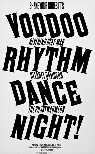 Voodoo Rhythm Dance Night! — Dafi Kühne