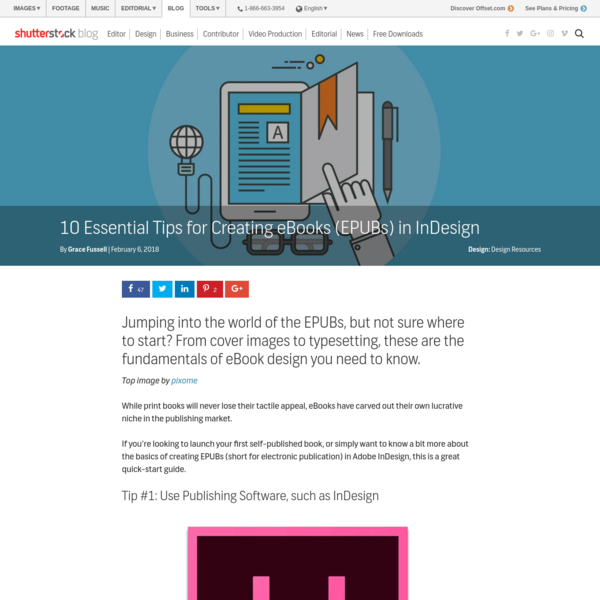 10 Essential Tips for Creating eBooks (EPUBs) in InDesign