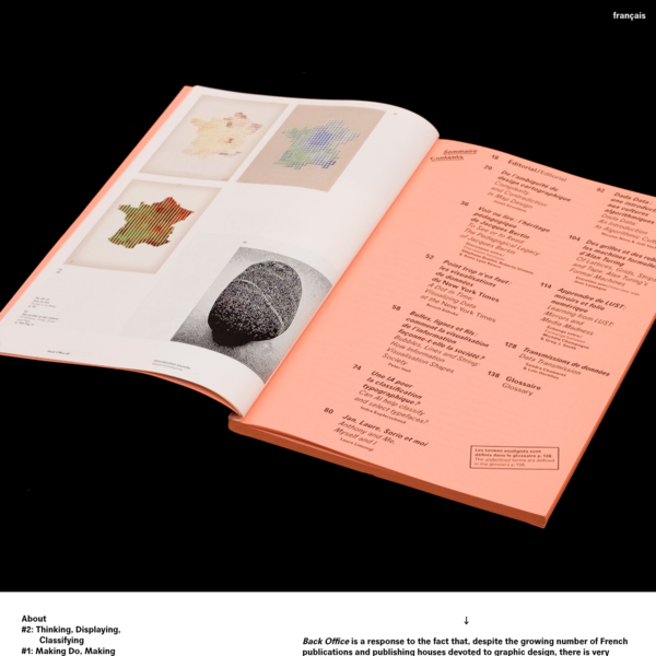 Back Office | An annual research journal encompassing graphic design and digital activities