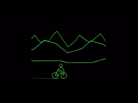 Track 10 of the audiovisual album Oscilloscope Music available at http://oscilloscopemusic.com What you see is what you hear: The audio signal is fed directly into the oscilloscope, where vector graphics are drawn with sound. Filmed from an analog Tektronix 5103N scope.