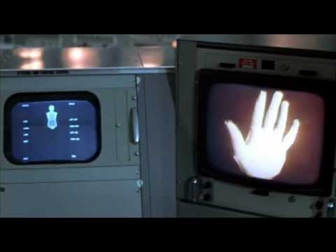 """_Futureworld_ (1976).  """"World's first 3D animation in a movie"""""""