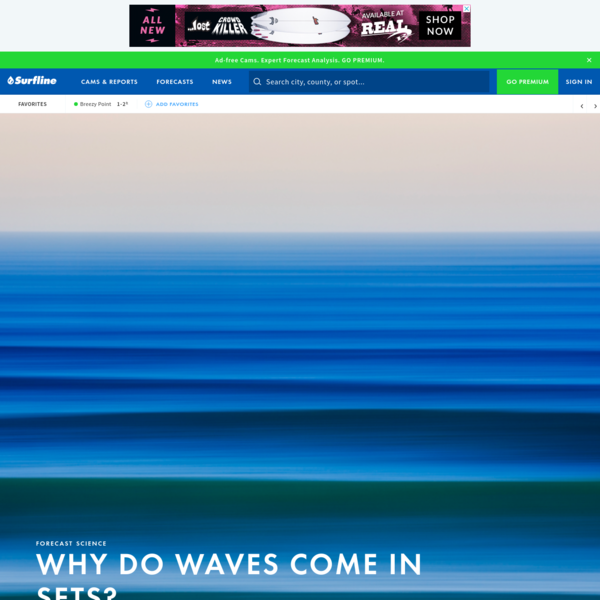 Why Do Waves Come in Sets?