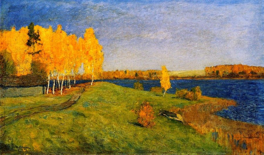 Isaak Levitan - Golden Autumn