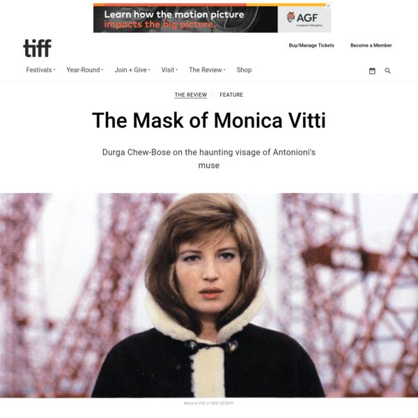 The Mask of Monica Vitti