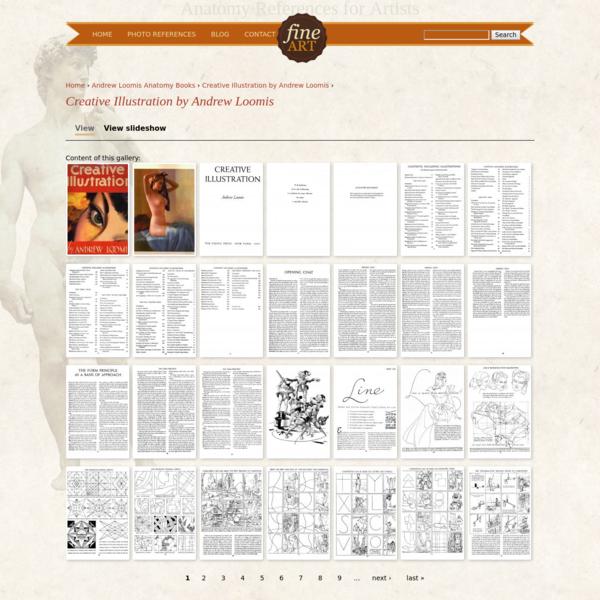 Home › Andrew Loomis Anatomy Books › Creative Illustration by Andrew Loomis ›