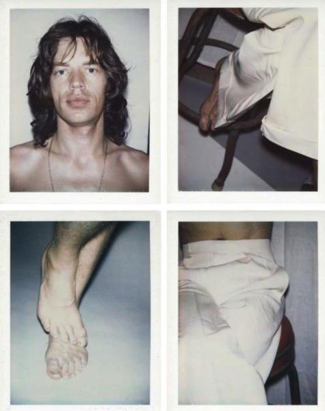 Mick Jagger by Warhol, 1975