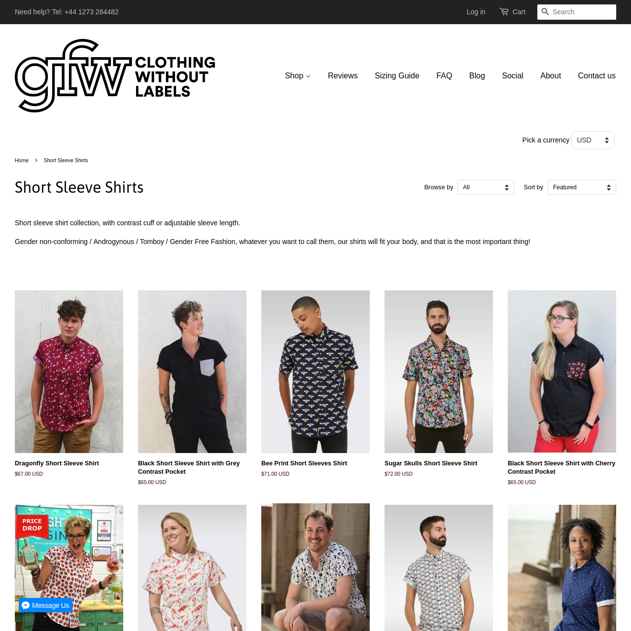 ef4f45fb1d146 Are.na   Short Sleeve Shirts - GFW Clothing