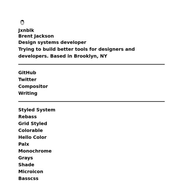 Jxnblk | Brent Jackson