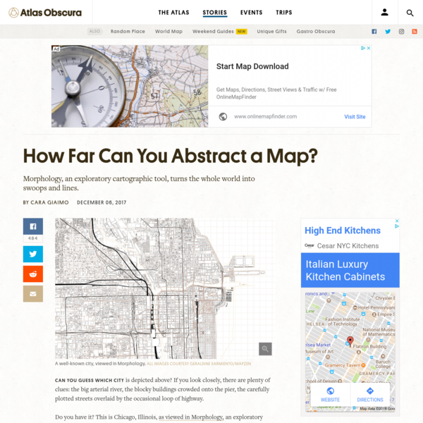 How Far Can You Abstract a Map?