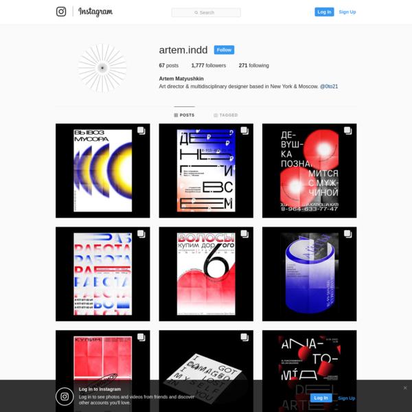 Artem Matyushkin (@artem.indd) * Instagram photos and videos