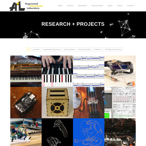 The Augmented Instruments Laboratory is based at Centre For Digital Music at Queen Mary University of London.