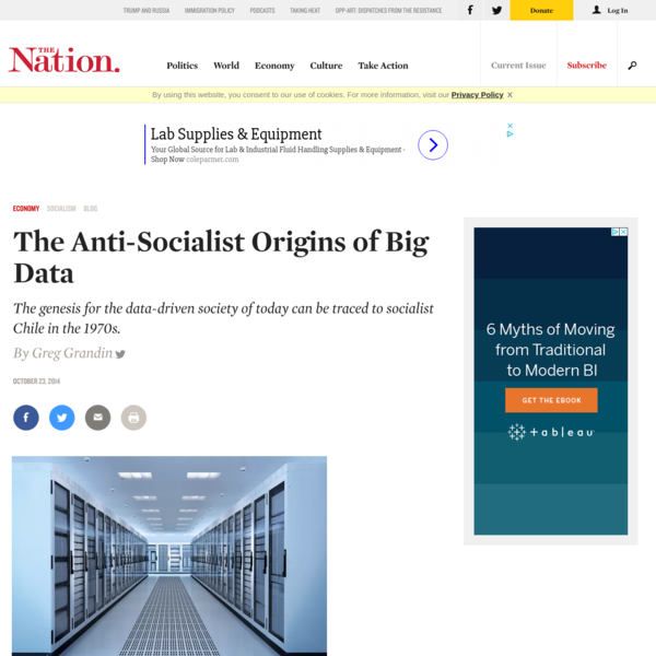 The Anti-Socialist Origins of Big Data