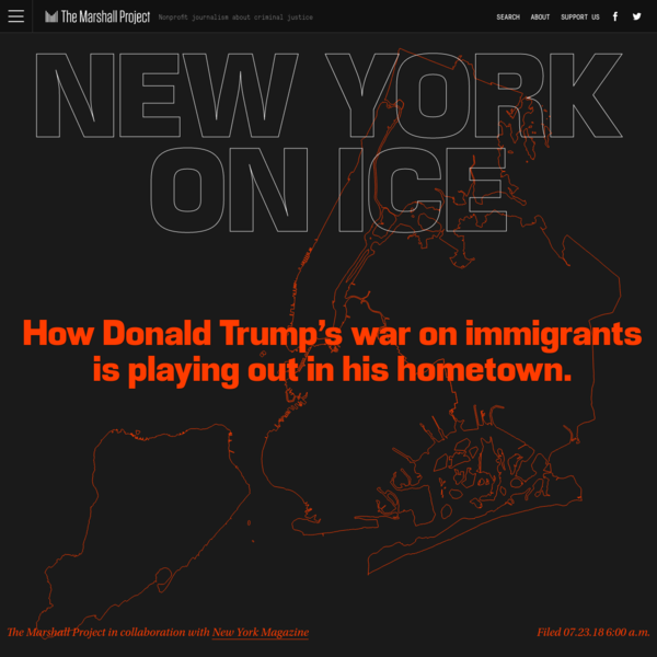 How Donald Trump's War on Immigrants Is Playing Out in NYC