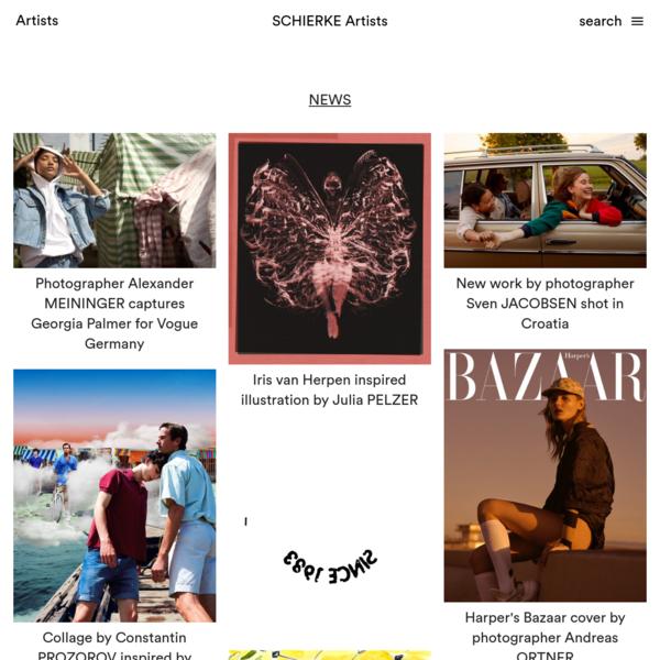 SCHIERKE Artists - International Advertising Agency since 1983 - Schierke offers international top photographers, illustrato...