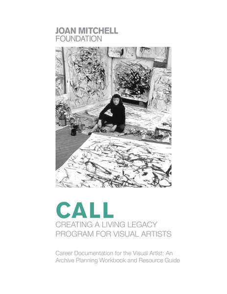 CREATING A LIVING LEGACY PROGRAM FOR VISUAL ARTISTS
