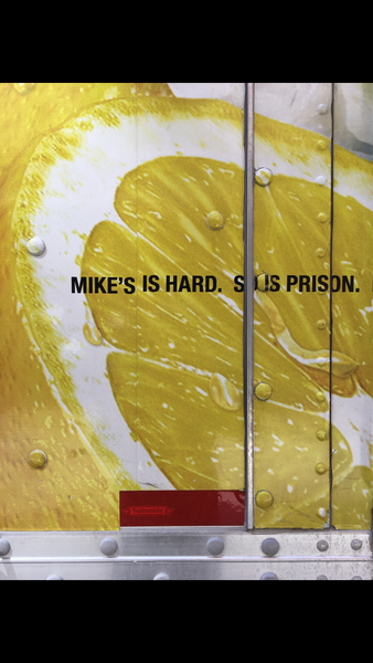 mike's is hard. so is prison.