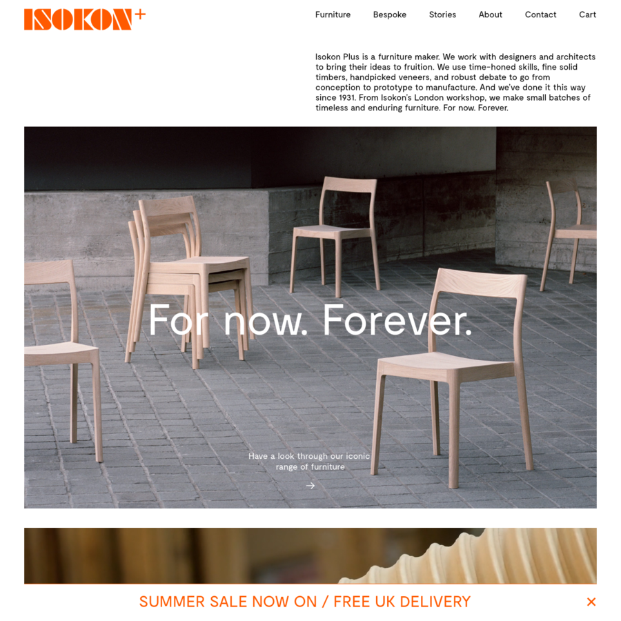Isokon Plus is a furniture maker based in London with more than 80 years of history.