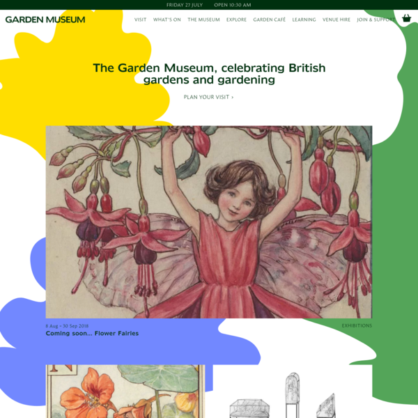 Garden Museum - celebrating British gardens and gardening