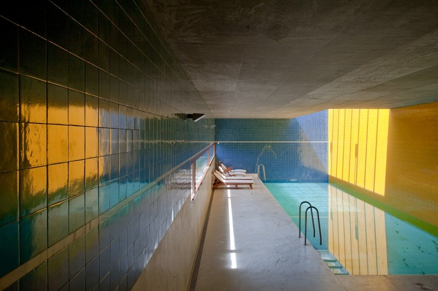 Alvaro Siza - Santo Ovidio Swimming Pool
