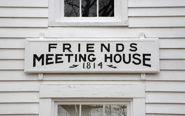 A Friends Meeting House in Casco, Maine, USA. Photo by MyLoupe/Getty