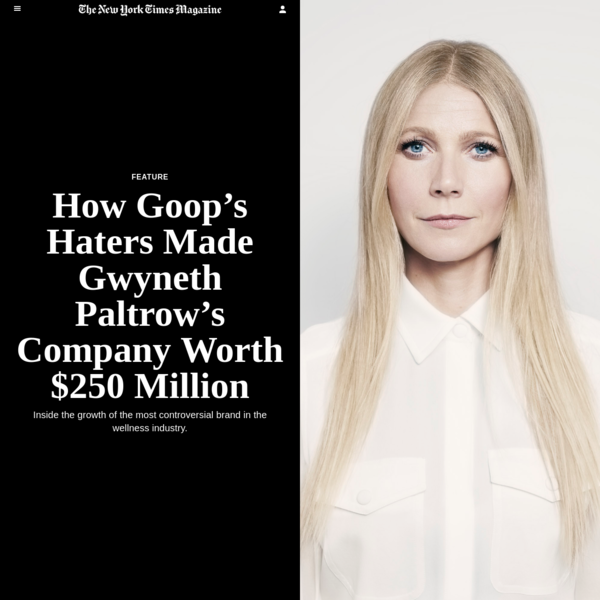 On a Monday morning in November, students at Harvard Business School convened in their classroom to find Gwyneth Paltrow. She was sitting at one of their desks, fitting in not at all, using her phone, as they took their seats along with guests they brought to class that day - wives, mothers, boyfriends.