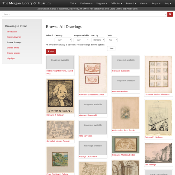 Browse All Drawings
