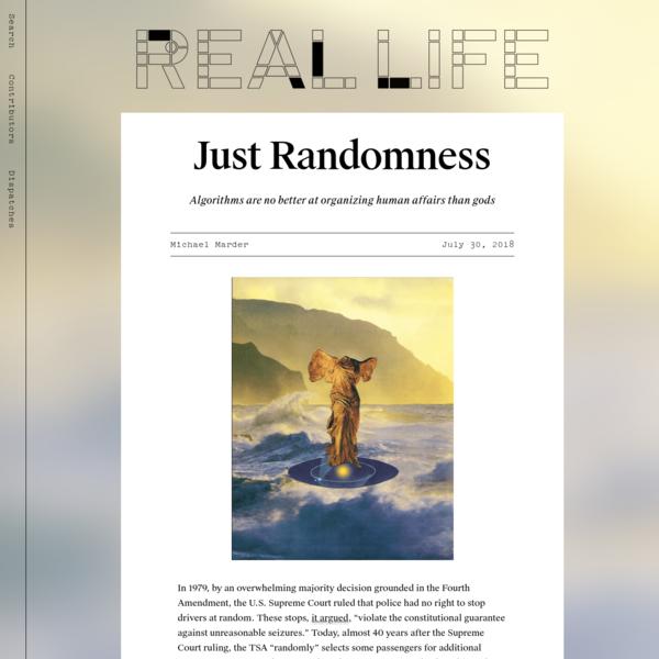Just Randomness? - Real Life