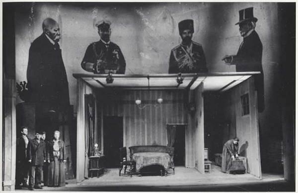 Bertolt Brecht Costumes & Stage Projection By John Heartfield, 1951