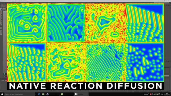 C4D tip - Native Reaction Diffusion