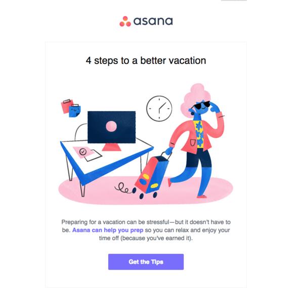 Asana newsletter
