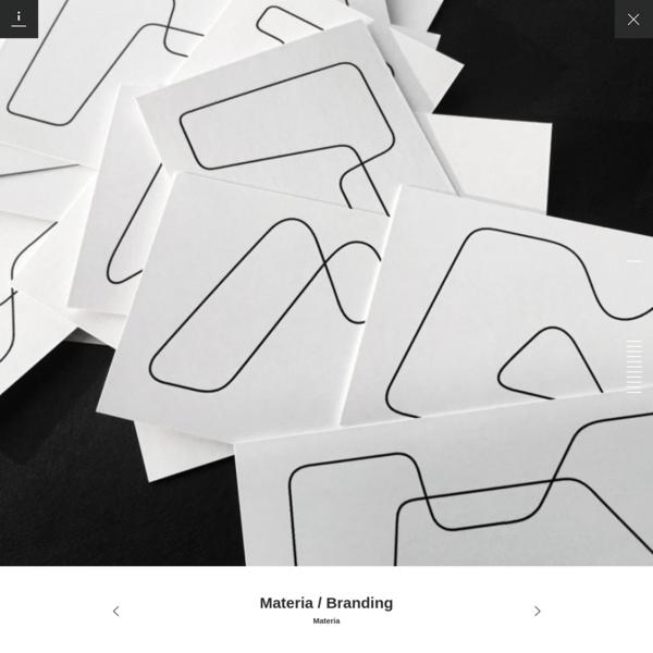 Materia / Branding