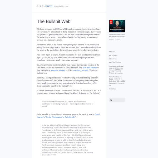 The Bullshit Web