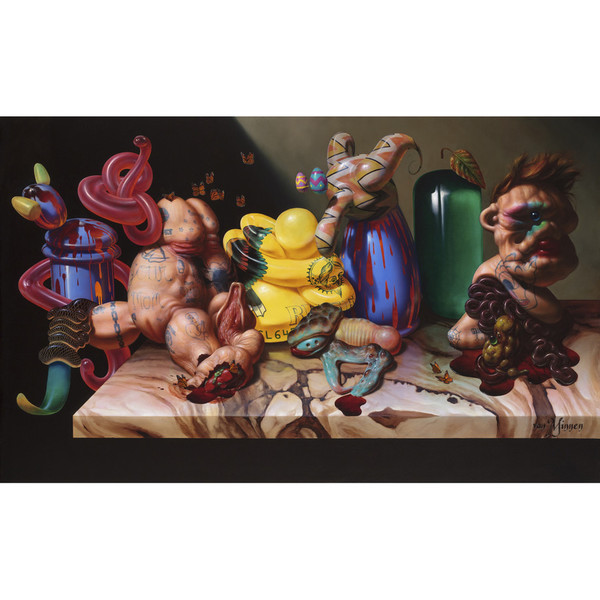 Google Gnostic, oil on linen, Courtesy of Robischon Gallery