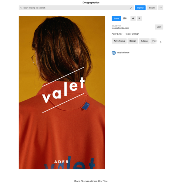 Best Poster Ader Error Design images on Designspiration