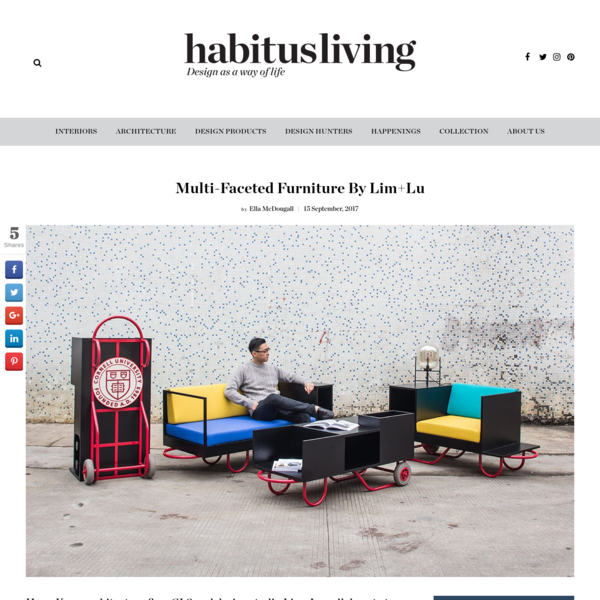 Hong Kong architecture firm CL3 and design studio Lim+Lu collaborate to create a collection of furniture that sings to the commercial and community spirit of New York City. The pushcart is a pervading feature in the landscape of New York City.