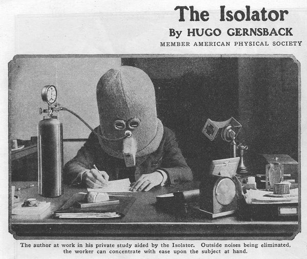 The Isolator, by Hugo Gernsback