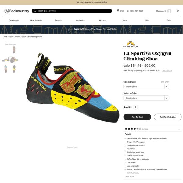 Oxygym Climbing Shoe