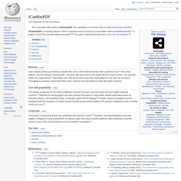 ICanHazPDF - Wikipedia